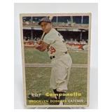 1957 Topps Roy Campanella - Brooklyn Dodgers - HOF