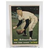 1957 Topps Red Schoendienst - HOF