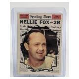 1961 Topps Nellie Fox - Sporting News #570