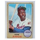 1968 Topps Hank Aaron