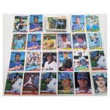 1980 - 1990 Rookies & Stars 65 Cards