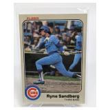 1983 Fleer Ryne Sandberg Rookie Card - 507