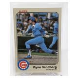 1983 Fleer Ryne Sandberg Rookie Card # 507