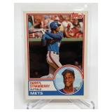 1983 Topps Darryl Strawberry Rookie Card # 108T