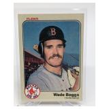 1983 Fleer Wade Boggs Rookie Card #179