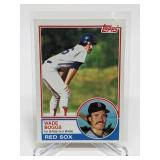 1983 Topps Wade Boggs Rookie Card # 498