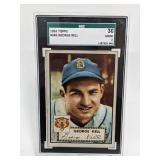 1952 Topps George Kell #246 SGC 30