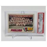 1977 Topps Phillies Team #467 PSA 5 Hand Cut