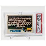 1977 Topps Twins Team #228 PSA 6 Hand Cut