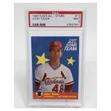 1986 Fleer All-Stars John Tudor #12 PSA 9