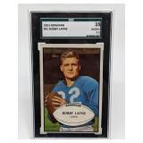1953 Bowman Bobby Layne #21 SGC 35
