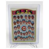 1972 Topps Cubs Team Card (Ernie Banks) #192