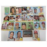 1953 - 1968 St Louis Cardinals 25 Cards