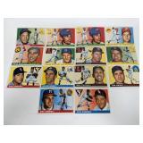 1955 - 14 - Topps Baseball Cards