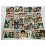 1956 Topps Baseball Cards - 35 Cards