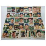 1956 Topps Baseball Cards - 50 Different Cards
