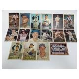 1957 Topps 16 Different  Baseball Cards