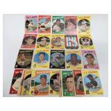 1959 Topps Baseball 30 Cards
