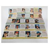1961 -63 Post Cereal Cards - 20 different cards