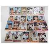 1963 - 1968 New York Yankees 23 Cards