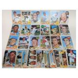 1966 - 1969 Topps Baseball 50 Cards