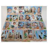 1968 Topps Baseball 50 Cards