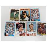 7 Jim Palmer Cards - HOF