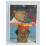 1984 Living Legends Johnny Bench, Carl Yastrzemski