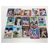 21 HOF Baseball Cards Puckett, Molitor & More