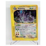 2002 Pokemon Crystal Nidoking Holo Aquapolis 150/1