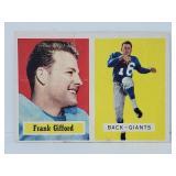 1957 Topps Football - #89 Frank Gifford