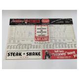 1973 Cardinals Scorecard W/ Stan Musial & More