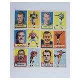 1957 Topps Football - 12 Cards