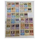 1999 Pokemon Complete Fossil 62 Card Set