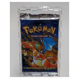 1999 Pokemon Base Set Booster Pack - Charizard Art