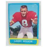 1963 Topps Football - Larry Wilson (Rookie Card)