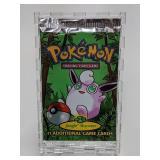 1999 Pokemon Jungle Set Booster Pack - Jigglypuff