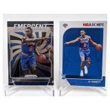 (2) RJ Barrett Basketball Cards
