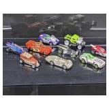 (9) Hot Wheels Vehicles