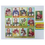 1963 Topps Football - 14 Short Prints