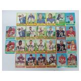 1963 Topps Football - 26 Cards