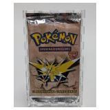 1999 Pokemon Fossil Set Booster Pack (1st Ed.) - Z