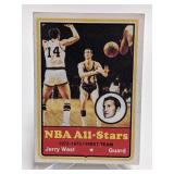 1972-73 NBA All-Stars Jerry West #100