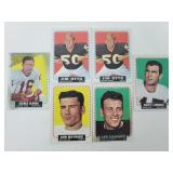 1964 Topps Football Stars - 2 with MK