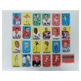 1964 Topps Football - 24 Cards