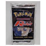 2000 Pokemon Team Rocket Set Booster Pack - Giovan
