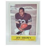 1964 Philadelphia Football - #30 Jim Brown Miscut