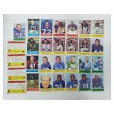 1964 Philadelphia Football - 29 Different Cards