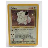1999 Pokemon Clefairy Base