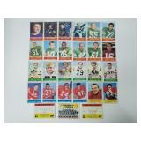 1964 Philadelphia Football - 27 Different Cards